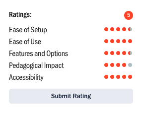 Ratings feature